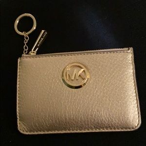 Michael Kors Small Wristlet with Credit Card Slots